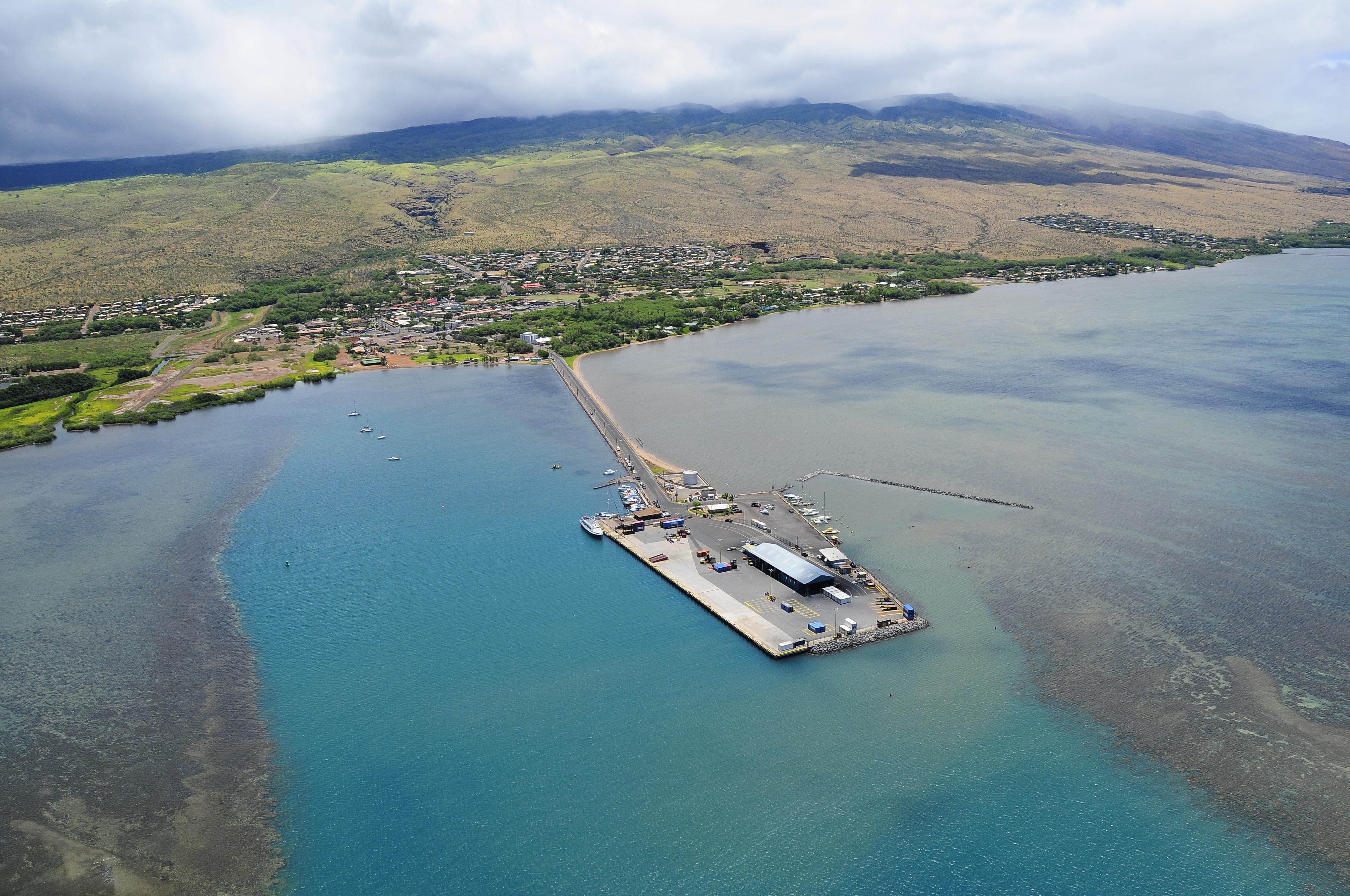 Kaunakakai Harbor Ferry Terminal Hdcc